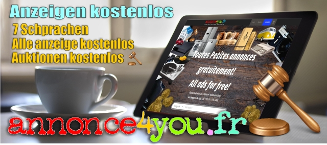 Anzeige kostenlos, ads for free, annonce4you.fr