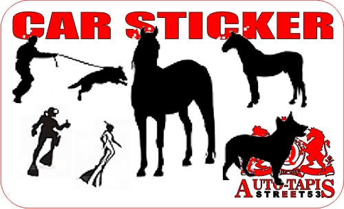 car stickers, adhesifs,
