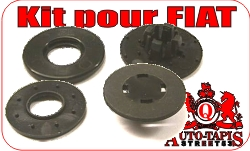 kit fixation tapis de sol FIAT