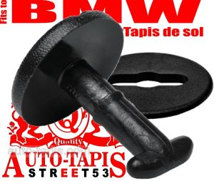 BMW Kit de fixation, BMW CAR MATS STOPPERS,