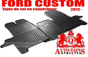 FORD CUSTOM Rubber Mats, Front,